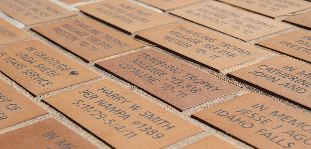 Idaho Elks Rehab bricks