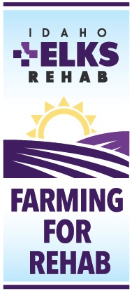 Logo for Farming for Rehab campaign